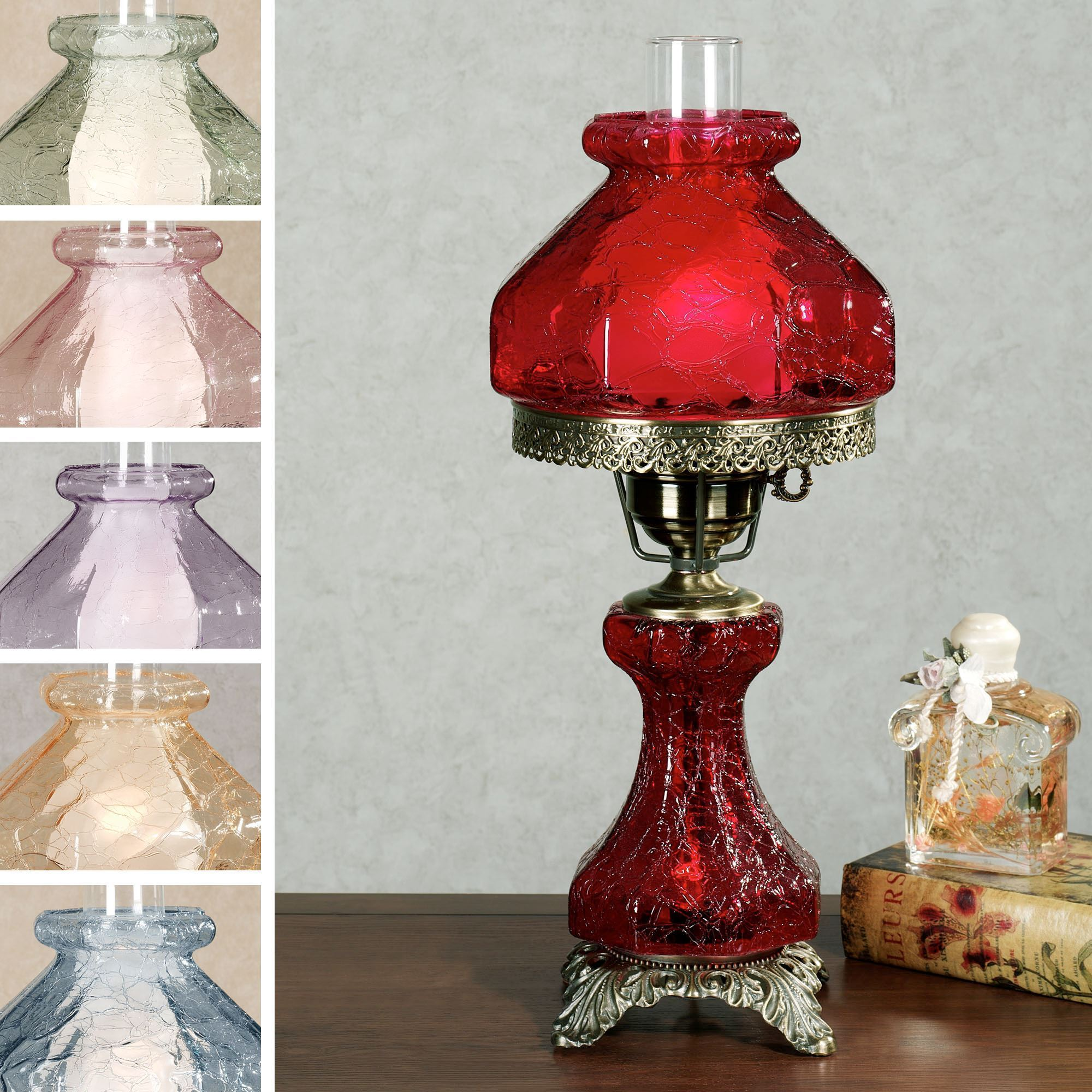 small brayleigh handblown glass accent lamp within decorative table lamps annie sloan chalk paint ideas gold shelves outdoor side with drawer long narrow end weathered patio