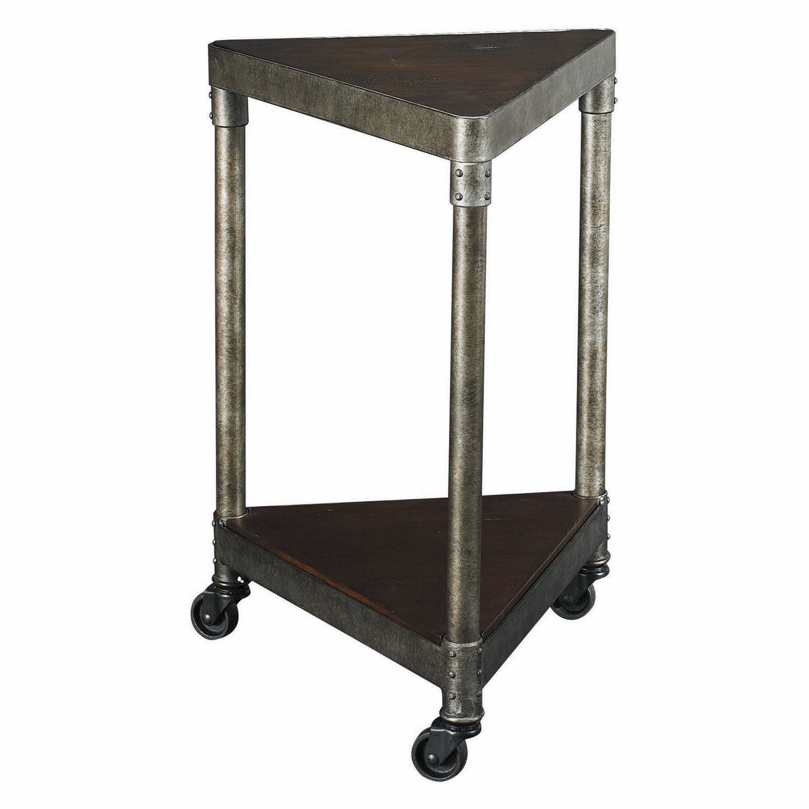 small corner accent table with drawer aruza furniture masculine triangle wooden and metal materials design wheel ideas awesome using not storage for pottery barn cart coffee total