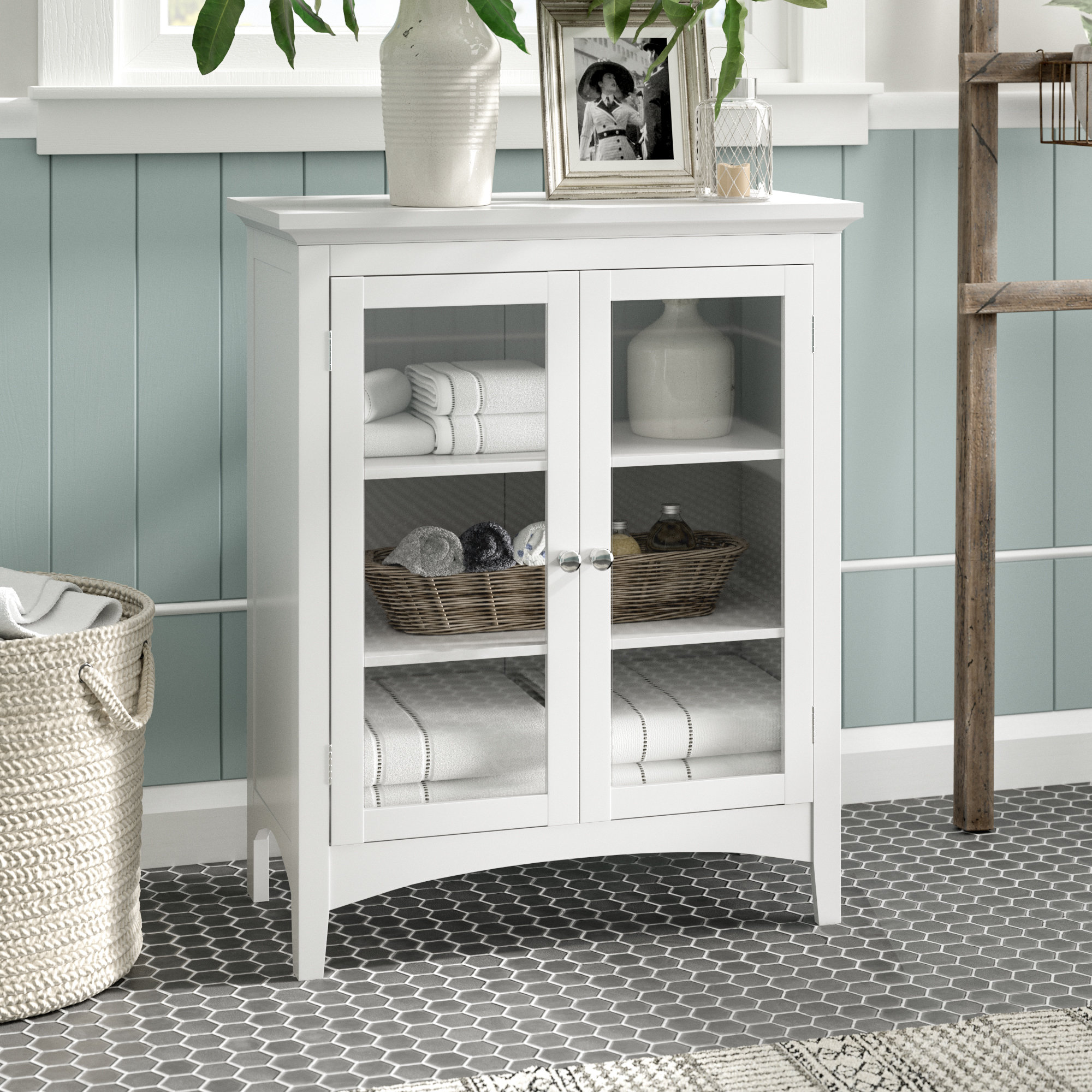 small corner and one antique whitewashed bayside door tall cabinet accent chests windham white cabinets storage jaycob lombardy rustic target table full size beach lamps for