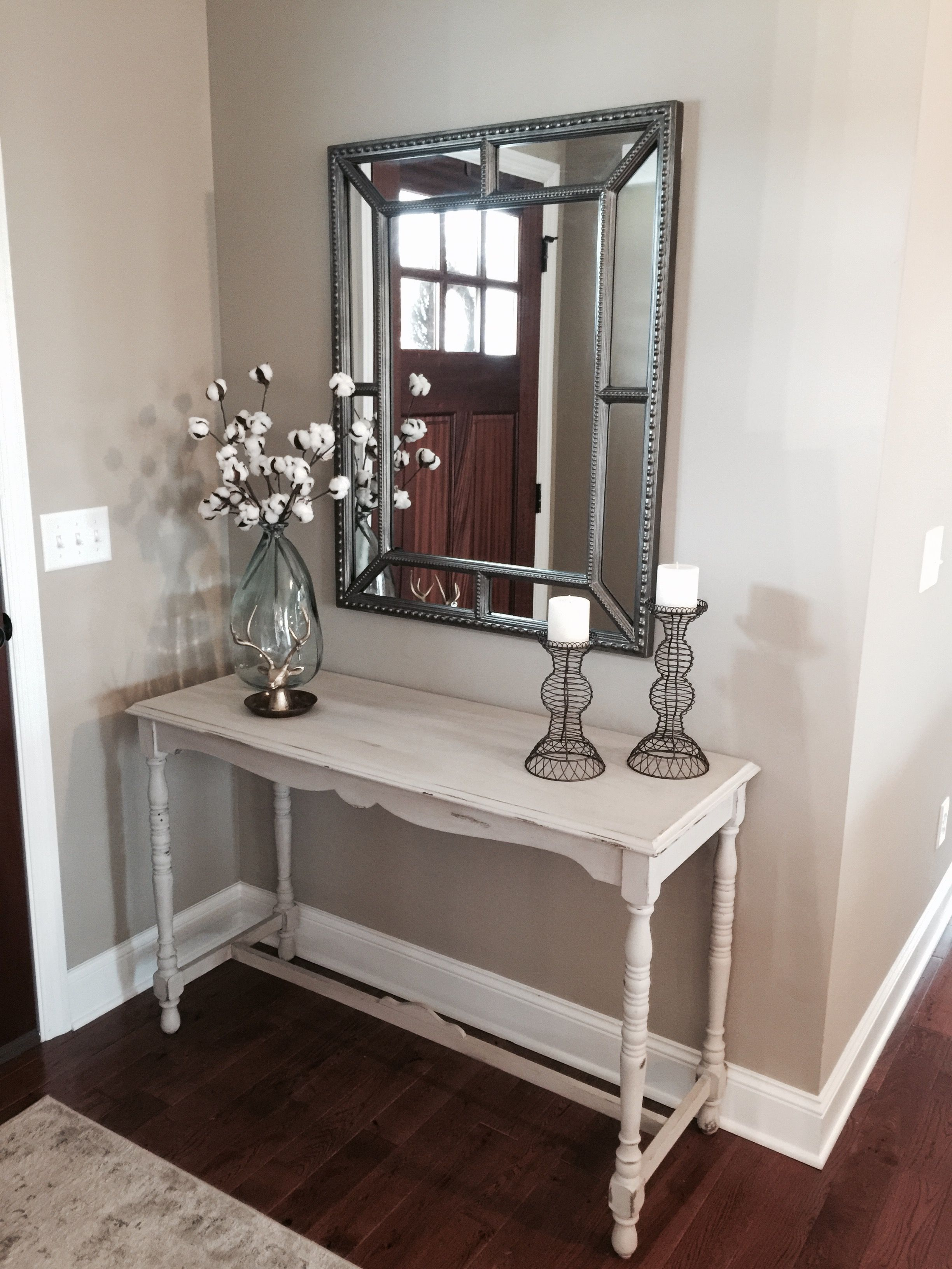 small entry way console table decor from world market hobby lobby accent tables and mirror wrought iron dining ikea cube storage boxes cordless floor lamp monarch furniture