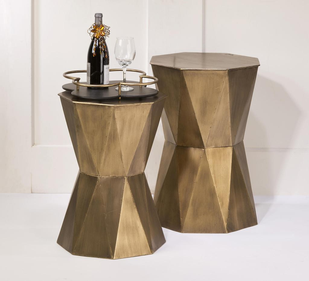 small geometric accent table display collections inc marble top breakfast lamp shades for crystal lamps wicker garden chairs computer target homesense coffee living room storage