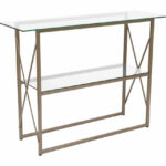small glass console table bassett chrome metal accent sofa with shelf narrow ikea long slim living room decorating ideas vintage make your own barn door buffet round concrete 150x150