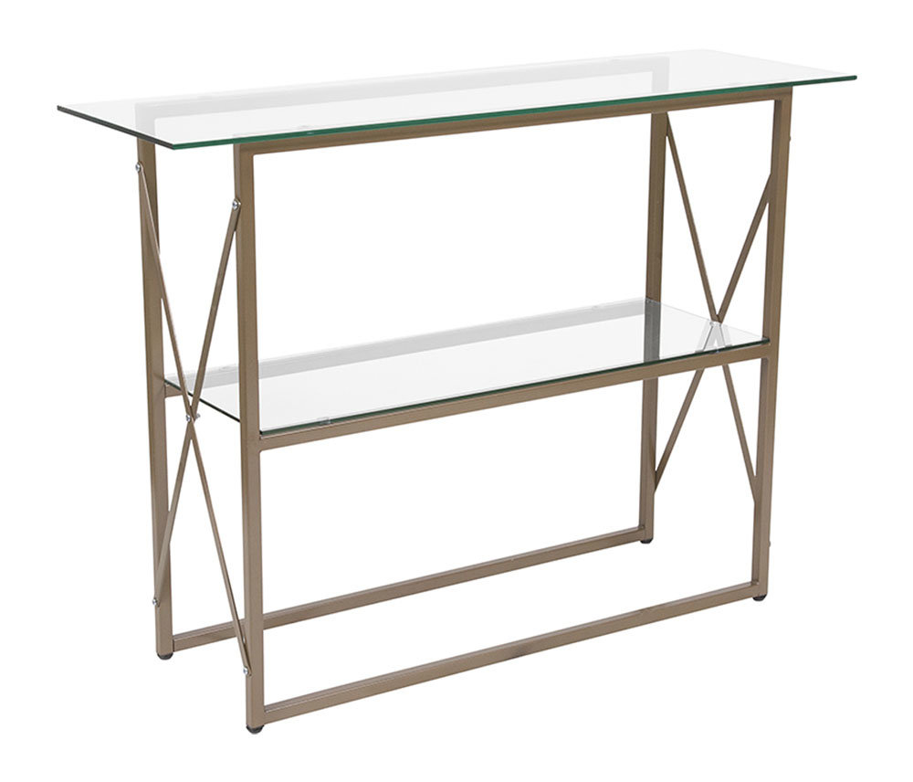 small glass console table bassett chrome metal accent sofa with shelf narrow ikea long slim living room decorating ideas vintage make your own barn door buffet round concrete