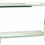 small glass console table shepler contemporary shelf chrome metal accent sofa with floral lamp cupboard decoration white corner end laminate floor door threshold barn buffet 150x150