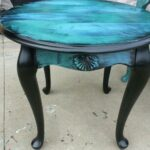 small iron table probably perfect cool teal blue end ideas distressed house design how paint and mercury row console round patio furniture ashley cross island large runner rustic 150x150
