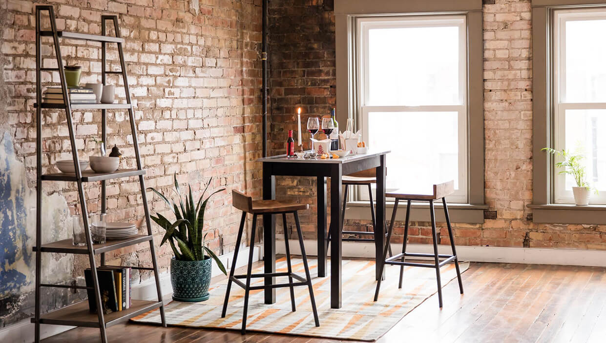 small kitchen dining tables chairs for spaces hero desktop piece accent chair and side table set plastic garden end sets bunnings timber outdoor furniture ethan allen cocktail