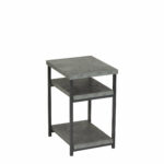 small low side table vlad slate faux concrete end outdoor accent pork pie drum throne round kitchen tablecloths colorful coffee tables target waldo ikea storage bins lounge room 150x150