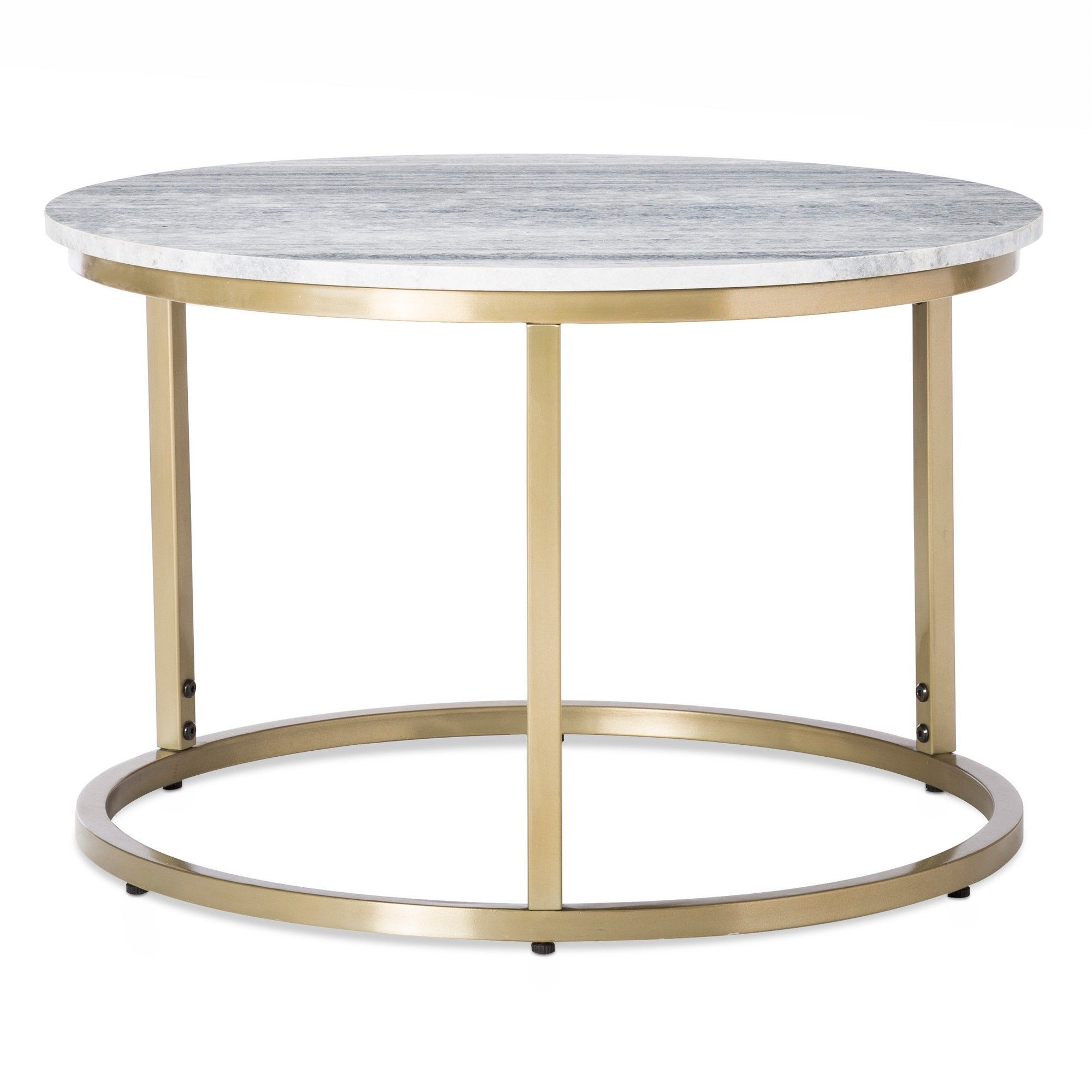 small marble top coffee table gold threshold products accent metal tables glass pedestal side silver end aluminum patio furniture home goods dining room dark cherry stand dale