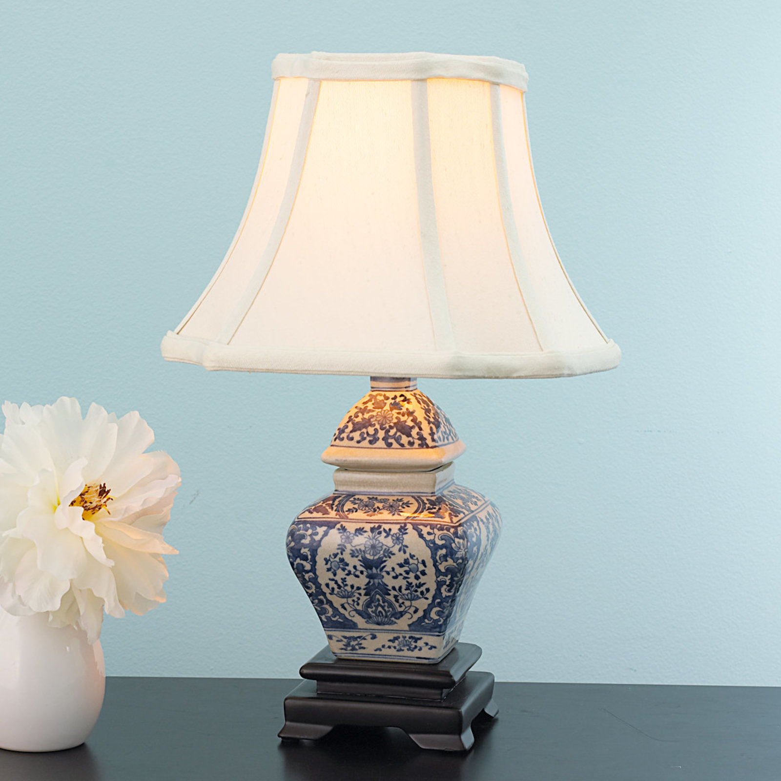 small mini accent table lamps shades light blue and white traditional lamp miniature dark brown side west elm mirrored comfortable porch furniture unfinished round end outdoor
