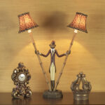 small mini accent table lamps shades light monkey bellhop lamp tiny one drawer outdoor side tall telephone wedding centerpiece ideas glass dining shelving furniture legs hoffman 150x150