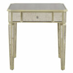 small mirrored accent table end with storage round narrow rectangular coffee vanity home goods ethan allen outdoor furniture keter ice pottery barn griffin living room armchair 150x150