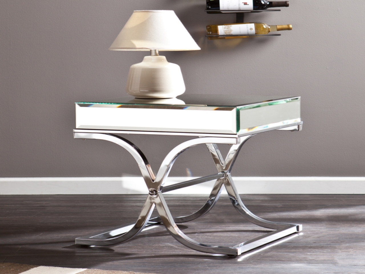 small mirrored accent table meganburford ideas for mirror end side wisteria tiffany style lamps target threshold round dining and chairs tablette fast nesting tables kitchen room