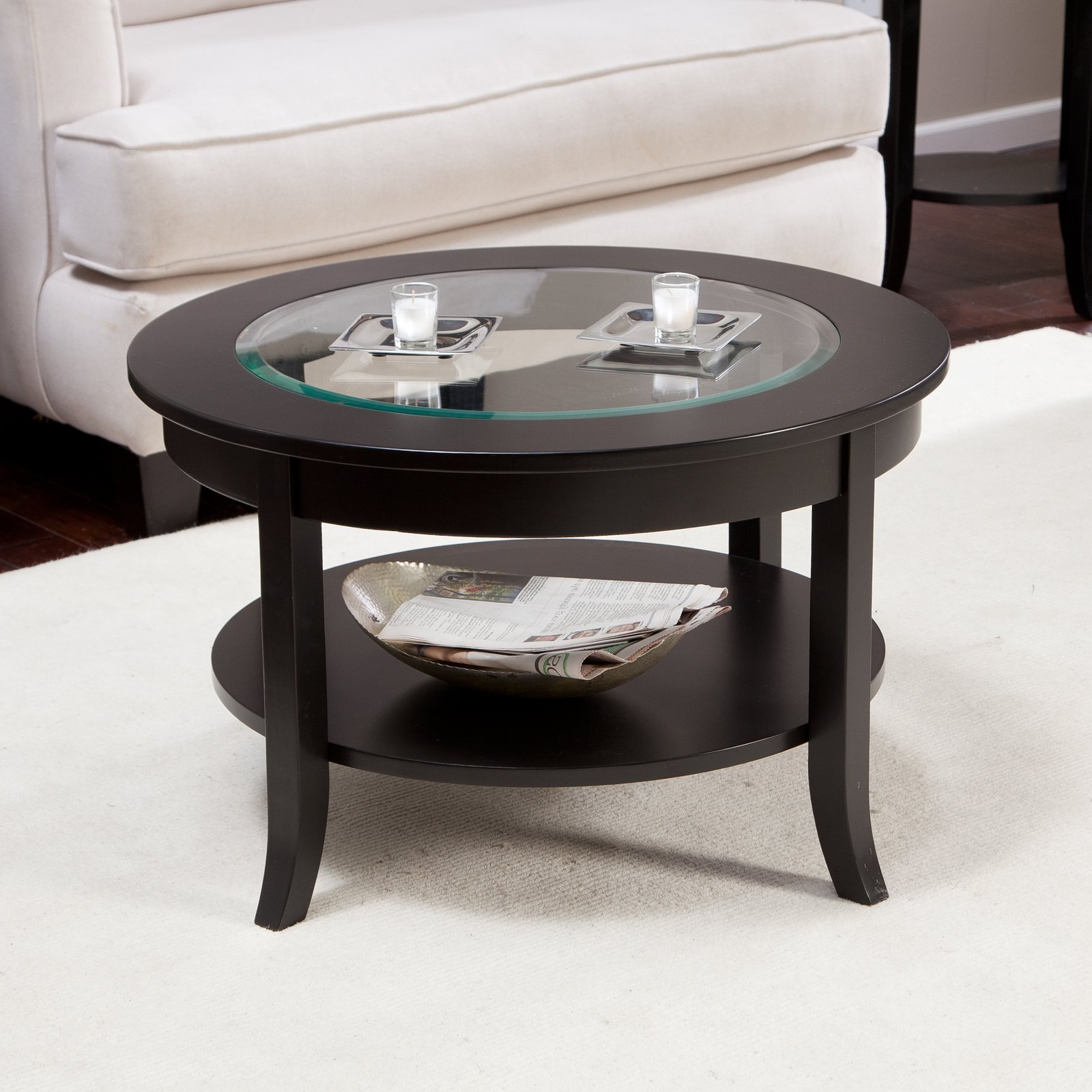 small oval glass top coffee table round coffees tables square design end console broyhill dining room furniture made out tree trunks white side for living accent mirrored buffet