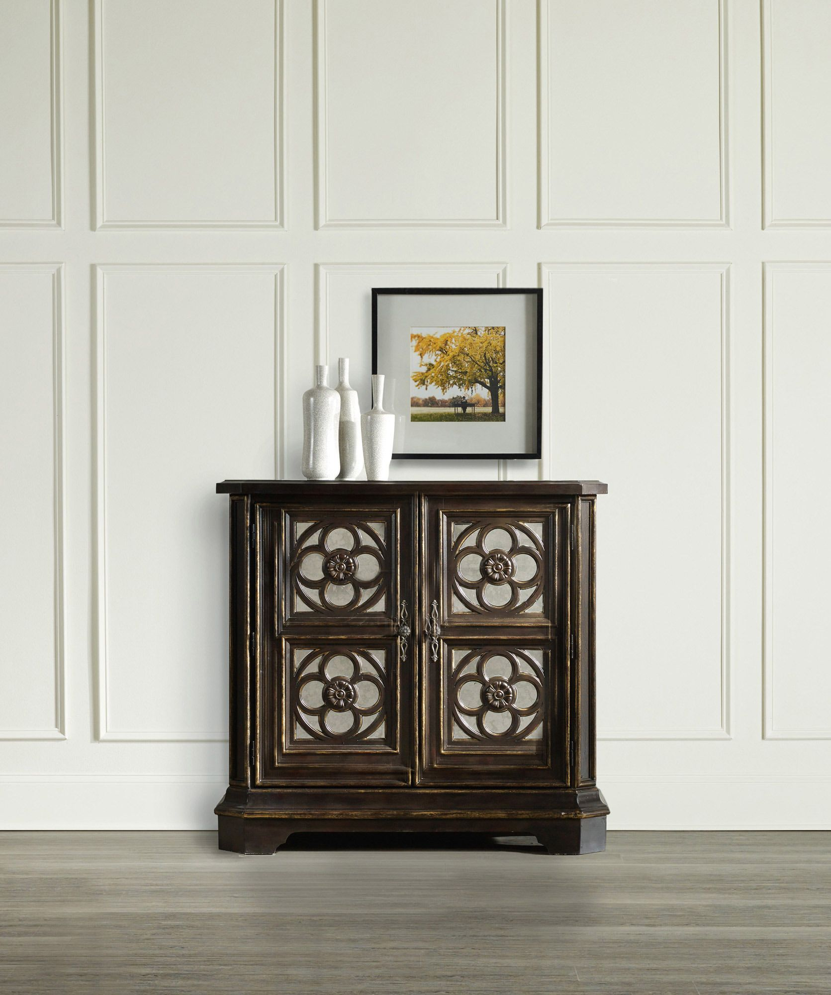 small quatrefoil chest black hooker furniture home gallery wood accent table external door threshold bars oak mission end coffee sets glass dining set west elm round kids and