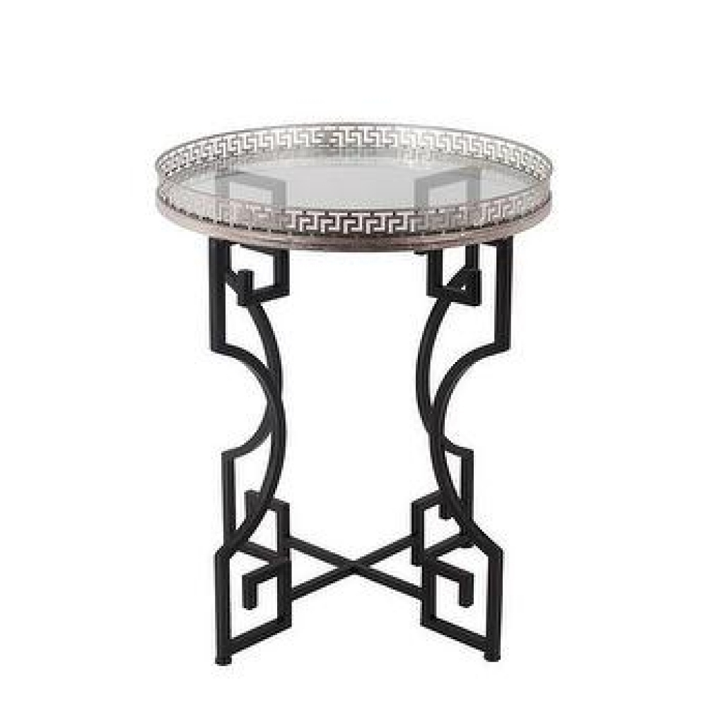 small round accent able products bookmarks design table tablecloth distressed side black white patio umbrella long narrow behind couch wooden legs and bases silver glass coffee
