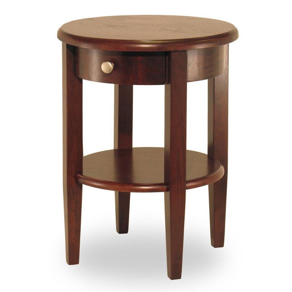 small round accent table wood shelf drawer chair side living room furniture smallroundaccenttable homedecorideas half home goods and chairs outdoor pottery barn pedestal lounge