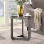 small round side table furniture living room end accent contemporary with drawer wood grey date monday pst now inch square tablecloth laminate threshold ramp danish mid century 150x150