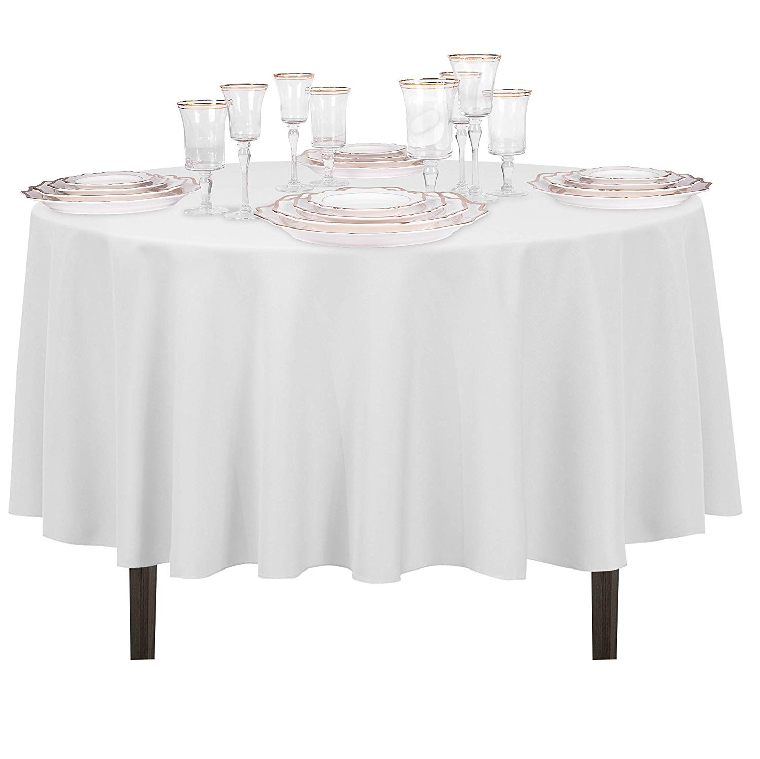 small round tablecloths target inches inch for measure kmart tree putting bulk dollar vinyl square plastic standard tablecloth linen accent sizes table winsome full size gold lamp