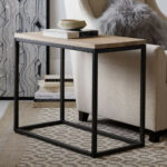 small side table ideas decorate your modern living room midcityeast fantastic design the black iron legs with brown wooden tops narrow grey rugs tables for white round coffee very 150x150