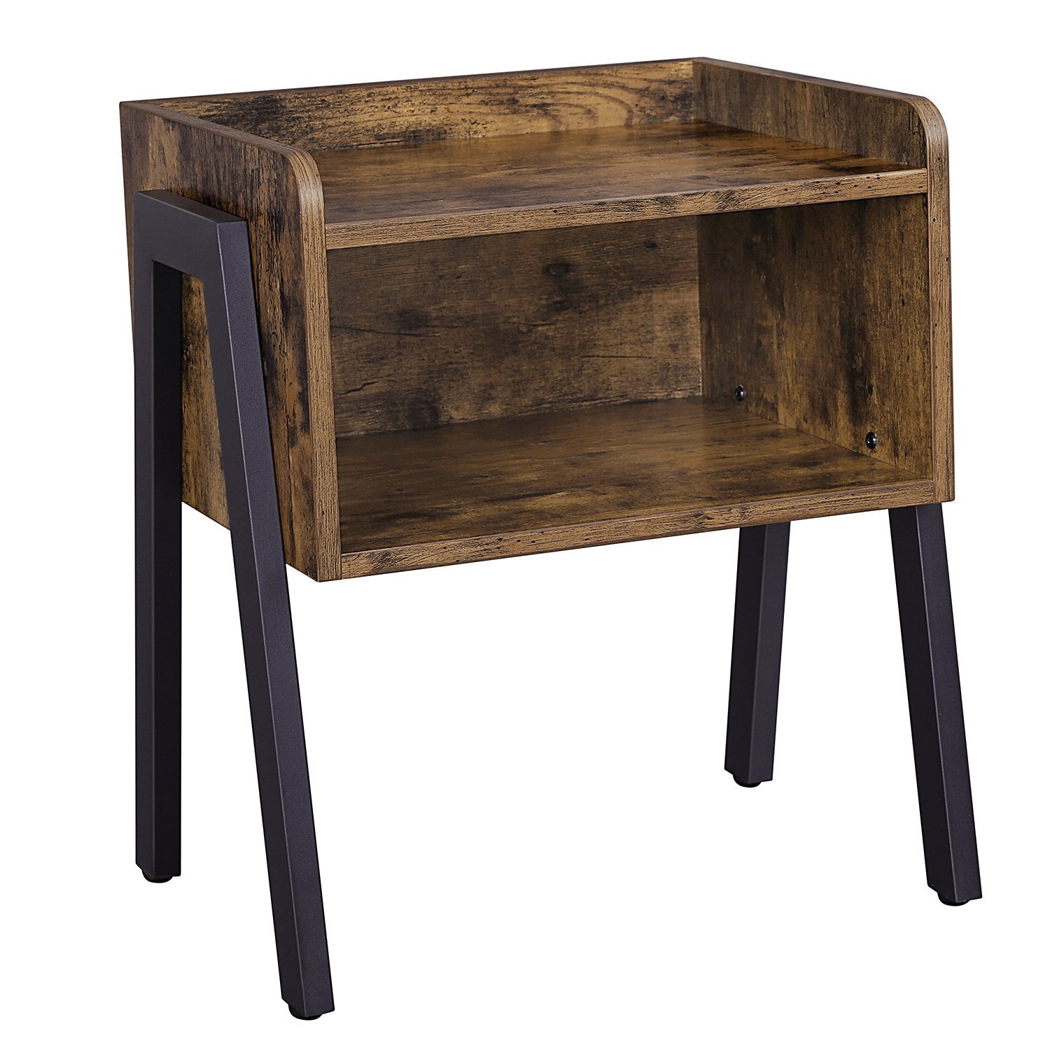 small side table living room open storage furniture essentials stacking accent end tables sofa couch bedside home decor iron legs vintage style stackable kitchen wooden coffee