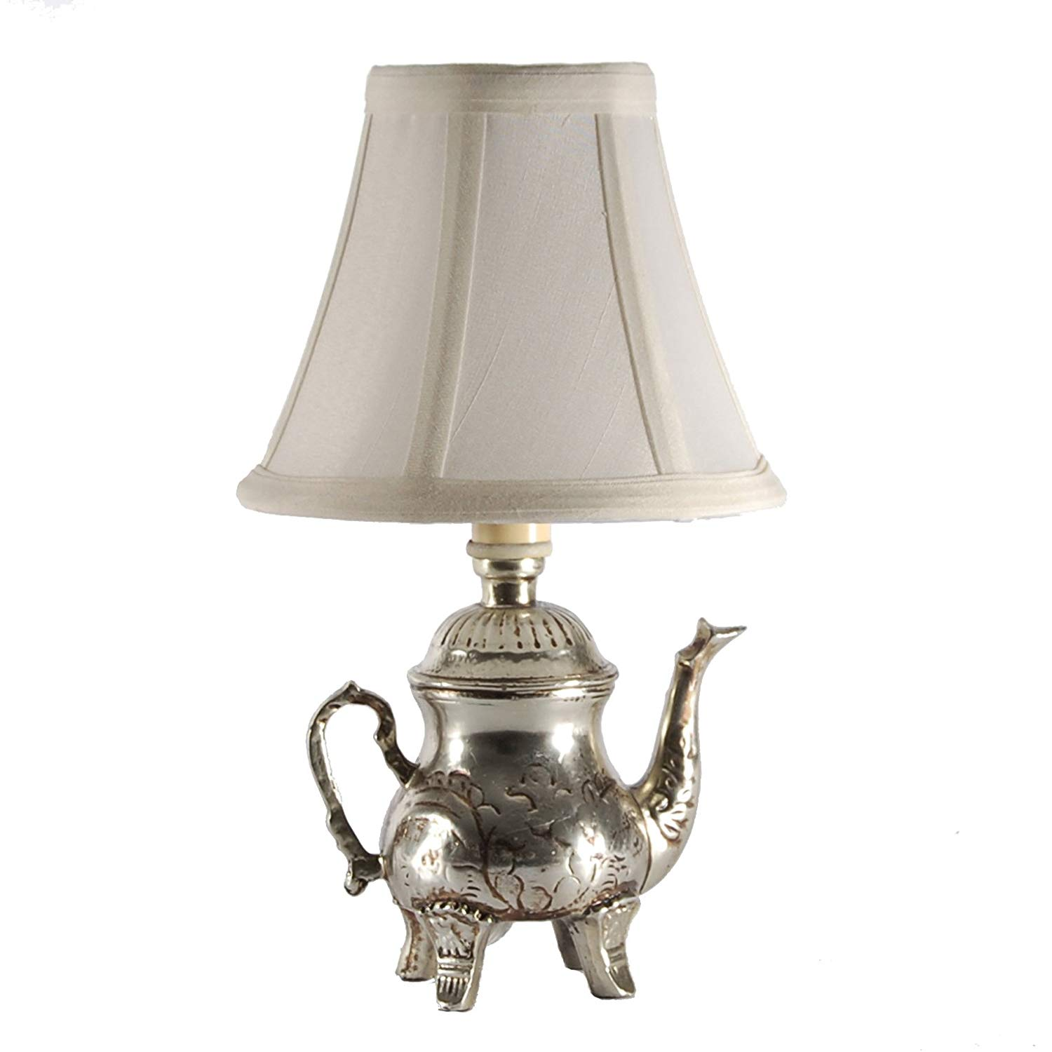 small silver teapot accent table lamp french leaf chairs low wood coffee mission pier coupon lucite side drum backyard furniture west elm blog unicorn sauder battery operated
