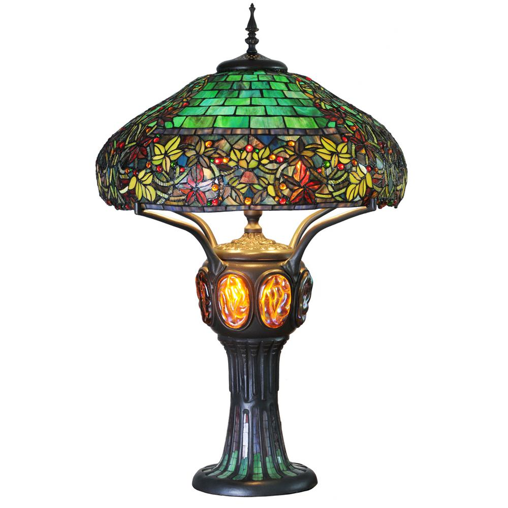 small stained glass lamps tiffany floor table best lamp style accent dale full size outdoor wicker coffee with top round occasional tables drawers rustic patio furniture clear