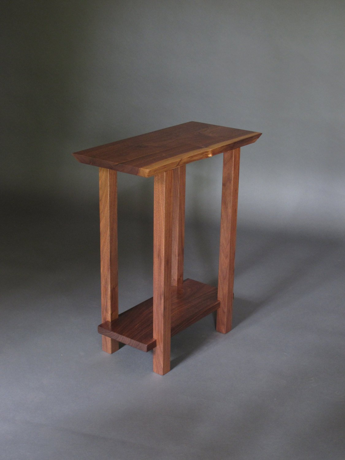 small table low shelf narrow end live edge wood etsy fullxfull accent blue distressed round pedestal bedside modern telephone black glass side collections tablecloth for square
