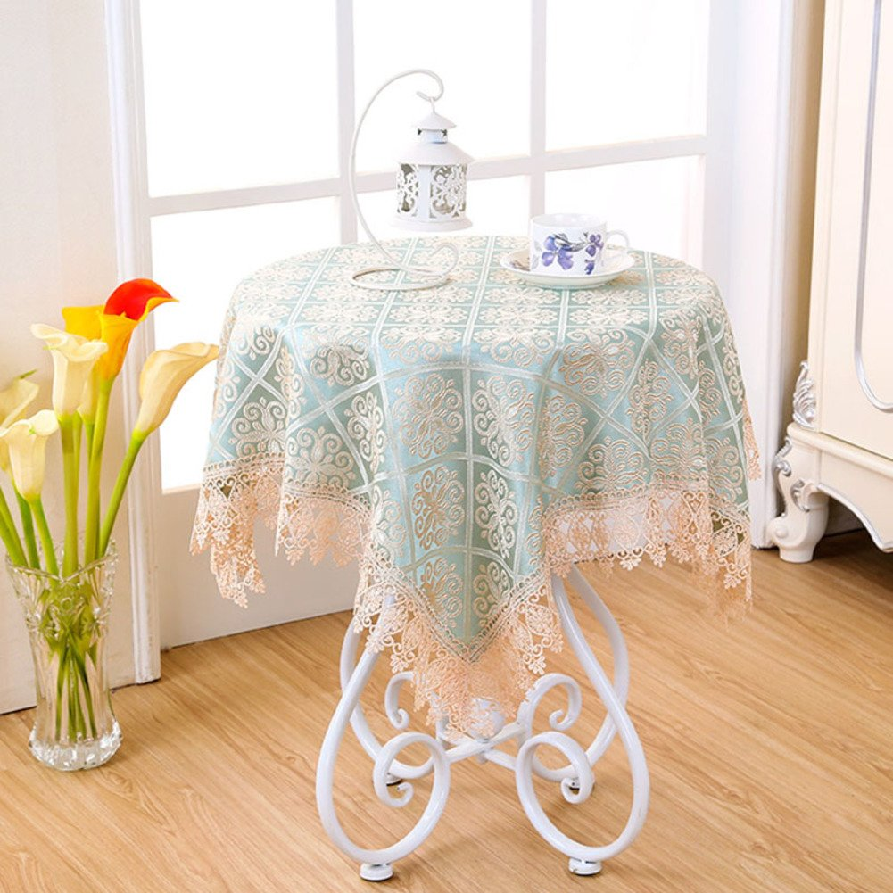 small table tablecloth bedside cover coffee round accent cloths pastoral lace home kitchen modern chair design marble door threshold decorative pieces fabric storage cubes ikea