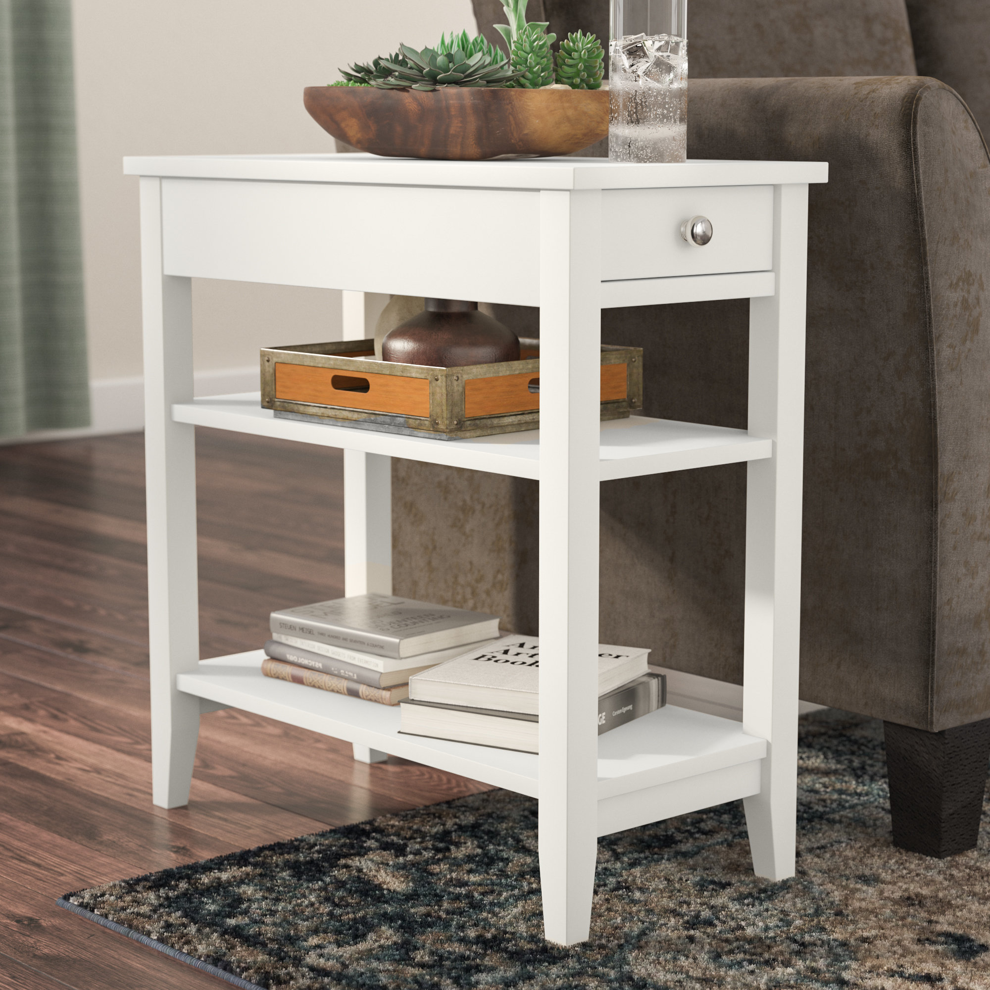 small white accent table greenspan end with storage ifrane quickview winsome drawer outdoor aluminum coffee metal home decor awesome tables tiffany chandeliers lighting barn door