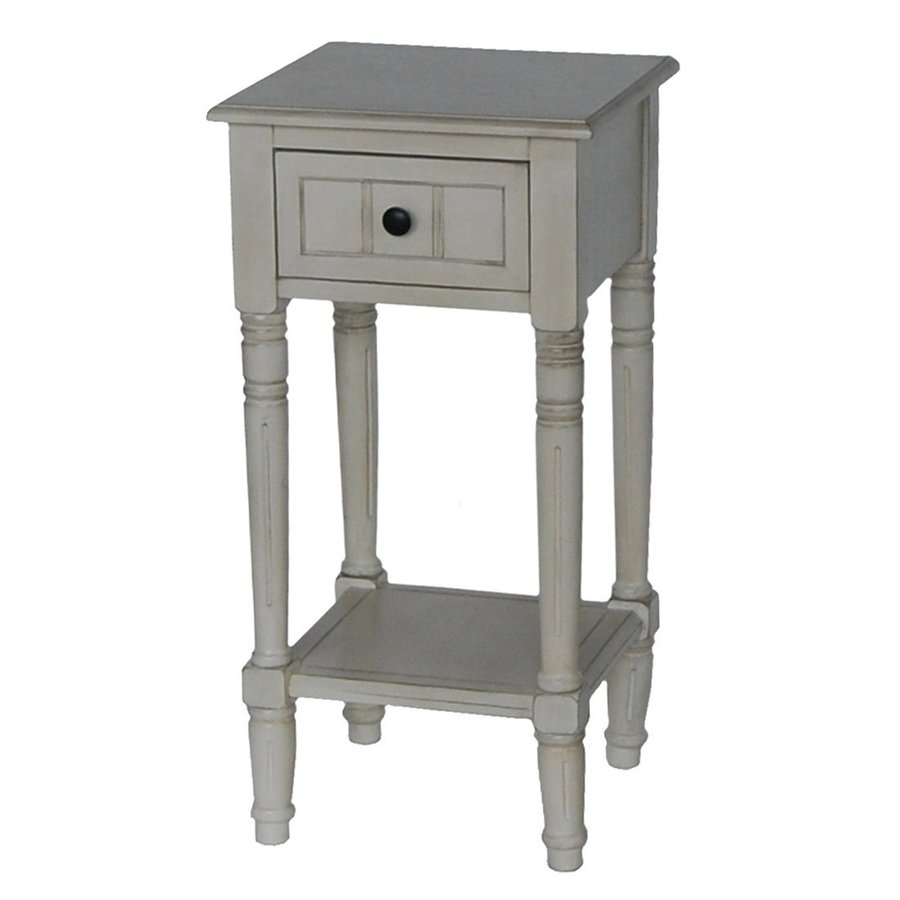 small white end table wood jigsy side decor therapy antique composite country tables oblong tablecloth sizes brass glass heritage furniture bedroom lamp shades kohls coupons