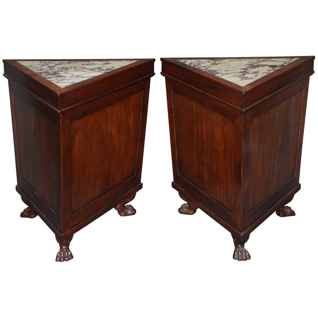 smaller triangle end table ideas loccie better homes gardens pair mahogany triangular side corner accent high dining room chairs unfinished round mirror three legged resin patio