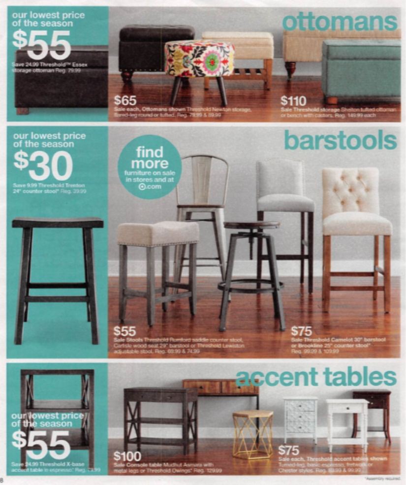 sneak peek target weekly scan coupon karma threshold owings accent table designer end tables white drum retro kitchen chairs triangular wood round side unique console cabinets
