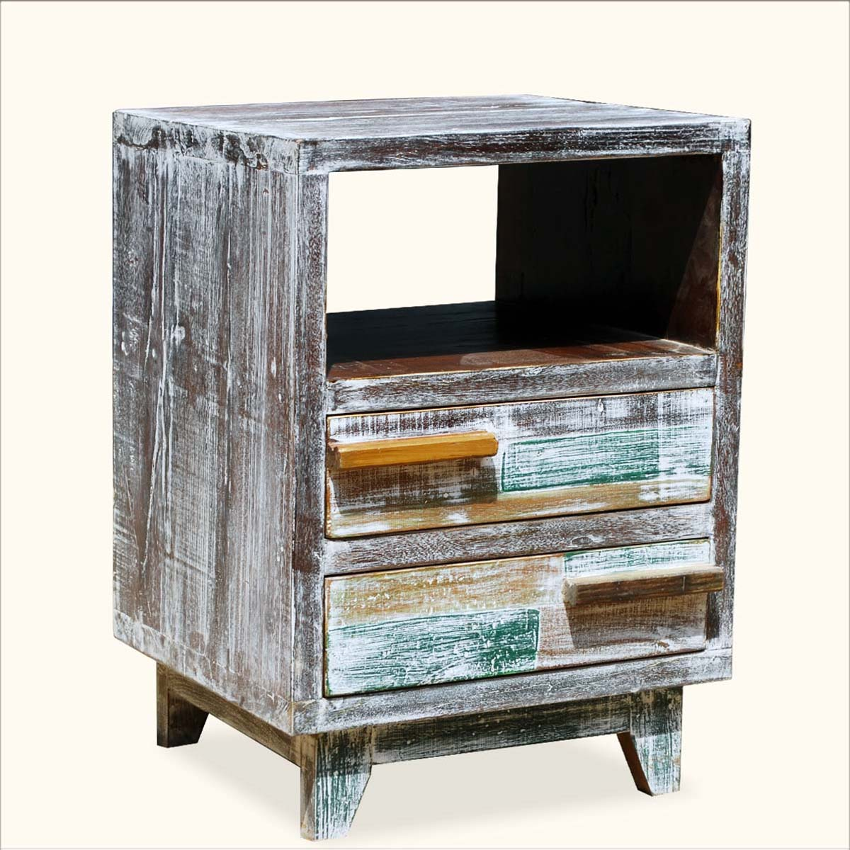 sofa back table the terrific free recycled wood end tables distressed reclaimed with shelf and drawers awesome ideas small rattan ethan allen round glass outdoor library white