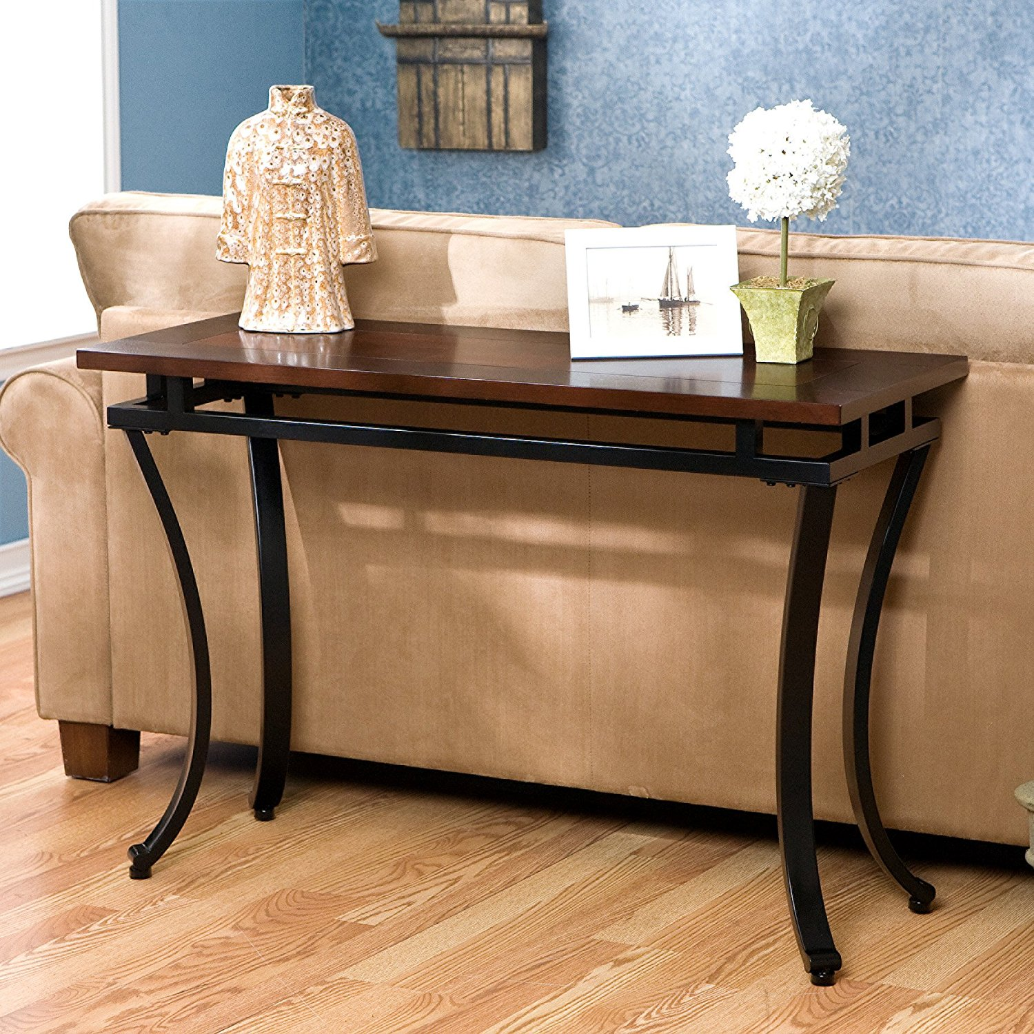 sofa table astounding back design behind the couch southern enterprises modesto designs ideas accent drum seat with marble coffee target comfy patio furniture antique drop leaf