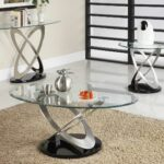 sofa table end set chaise lounge dark black wide stone and glass console large white with wood top accent tables living room full size modern furniture mirrored patio dining sets 150x150