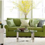 sofas sectionals lime green fabric sofa white fur rug oval glass coffee table black wood floor lamp square side wall throw pillows emerald accent full size decorating best patio 150x150
