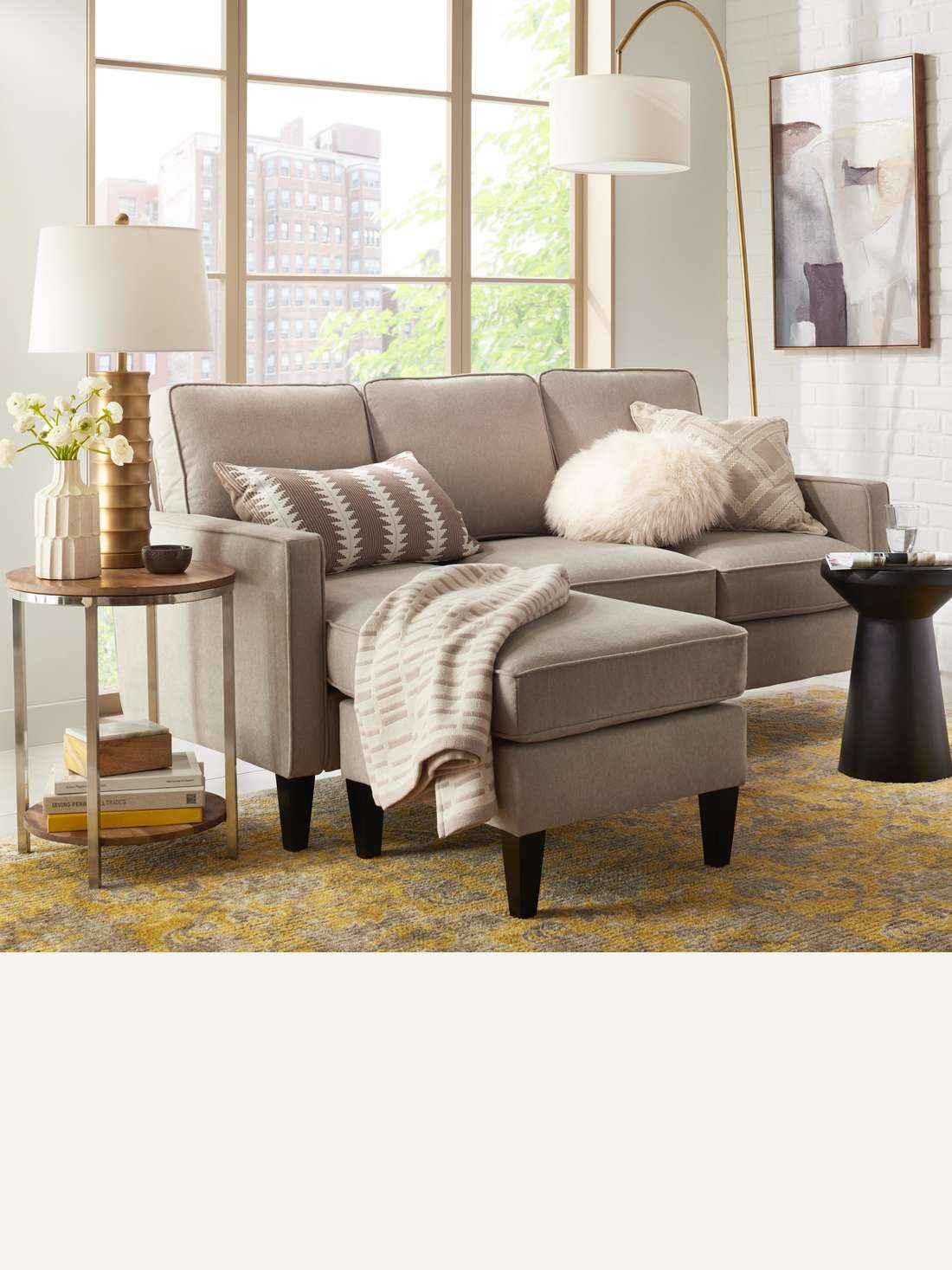 sofas sectionals target accent table room essentials smaller offer lots comfy seating for small spaces while larger ones are best open floor plans browse couch and loveseat set