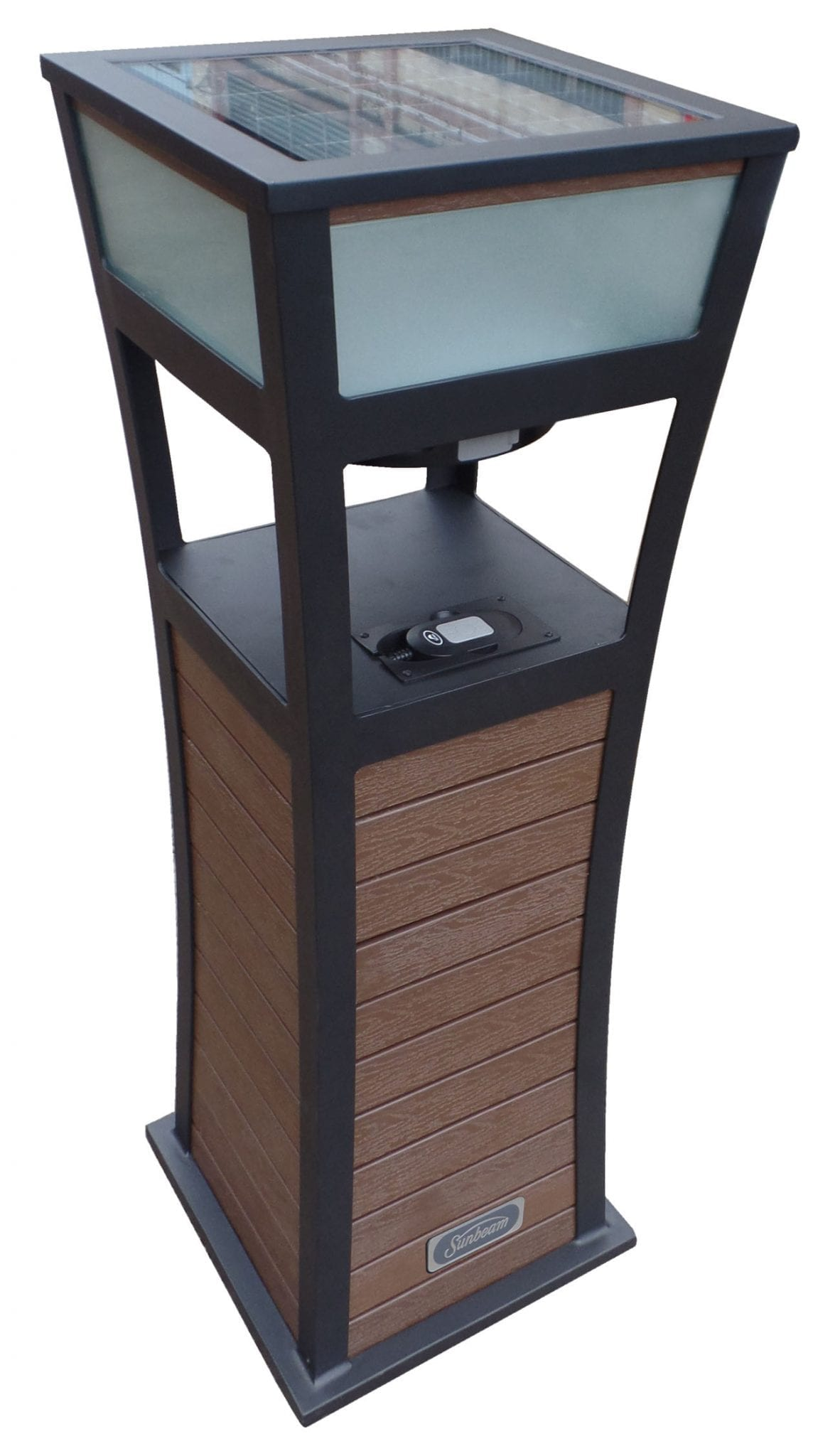 solar audio accent tables jay trends sunbeam table metal nesting wicker outdoor furniture bunnings quilted runner ideas innovative coffee lamp shades for wall lights mid century