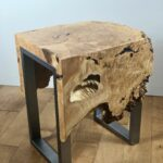 sold maple burl live edge waterfall end table wood accent excited share the latest addition etsy stock small mid century coffee nautical side cast iron parasol base door stopper 150x150