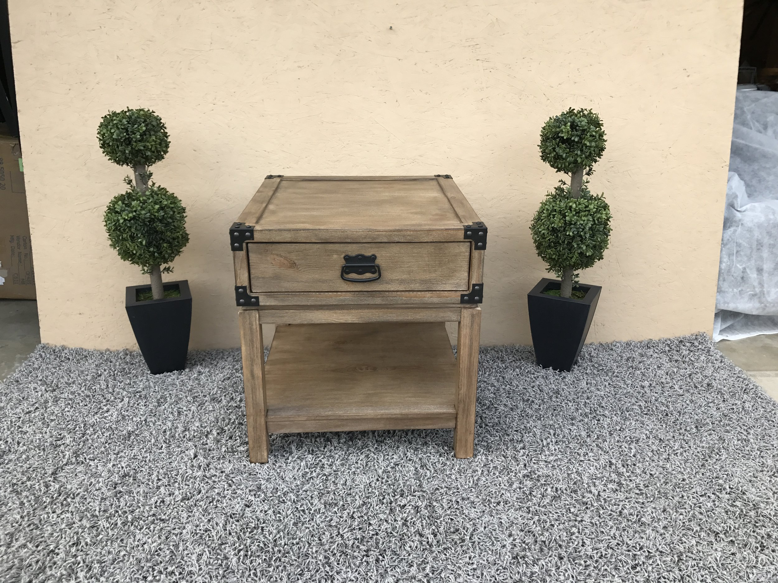 sold treasure trove accents carmel burnished natural finish trunk img accent end table ikea wooden storage bench small decorative cloths round glass coffee with gold base book