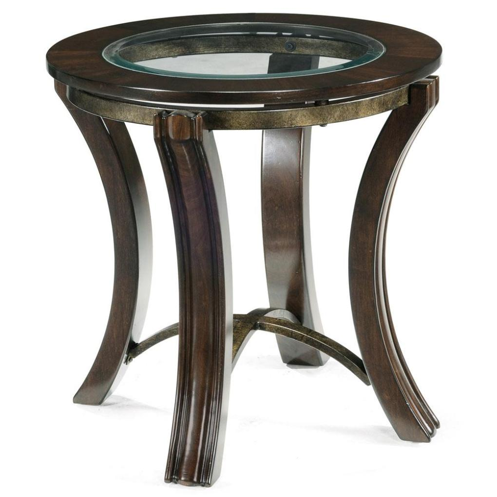 soli wood glass round end table tables magnussen accent for foyer kitchen and chairs set adidas slides patio drink cooler console side dining black grey mirrored bedside ikea