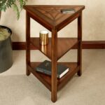 solid oak side table the outrageous amazing narrow cherry end three tiers wood triangle with shelves gallery nice trunk restoration dog cave bedside lockers argos under sofa snack 150x150