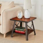 solid wood accent table horace end oak tables runner and placemats unusual coffee ideas retro furniture sheesham blue white jar lamp bathroom chest drawers marble steel led 150x150