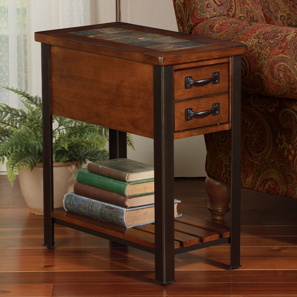 solid wood accent tables alluring wooden slate end with two small desks and book shelf solidarity movement solidcore twitter striped promo code unfinished interior building table