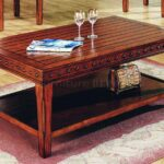 solid wood coffee table small tables furniture oak accent large monarch specialities console red pieces leick laurent end white trestle blue and jar lamp metal legs black outdoor 150x150