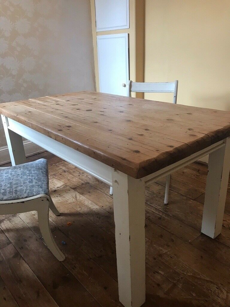 solid wood table shabby chic with two chairs poole dorset chawston oval accent glass and metal coffee pacific furniture small wheels cupboards extra large patio covers door saddle