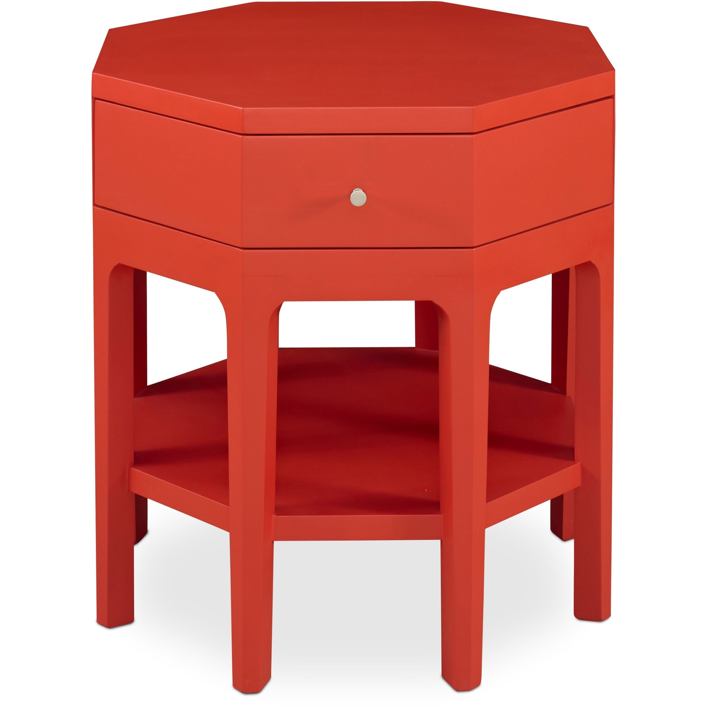 somerton dwelling improv red octagon accent table free shipping today acrylic side with shelf marble desk small grey console west elm lamp shades glass living room set dale drawer