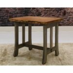 somette cherry live edge end table products tables accent brown set vintage cabinet hardware winsome wood dresser wicker with storage pier candles hexagon umbrella tablecloth 150x150