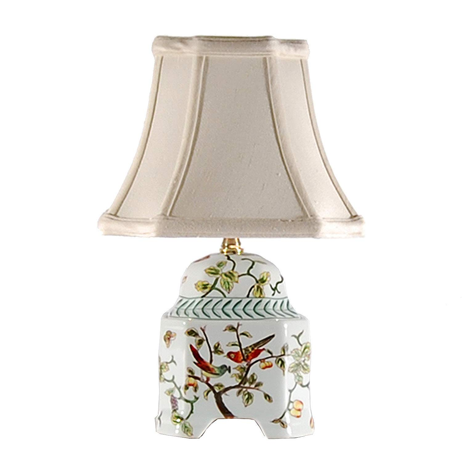 song birds small accent table lamp porcelain base brl brass lamps knurl nesting tables pottery barn legs cool retro furniture end ikea inexpensive quality bedroom nautical hanging