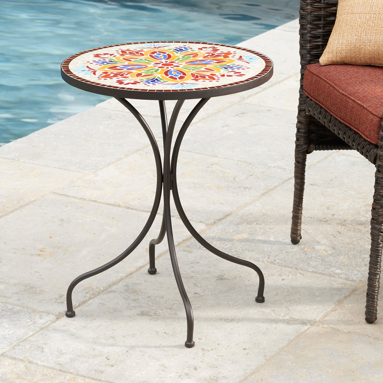 sonoma goods for life patio table medallion mosaic from kohls accent card narrow nesting side tables square concrete coffee vienna furniture cordless battery lamp trestle dining